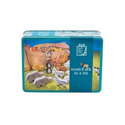 Stort Noahs Ark med tilbehør - Gift in a tin