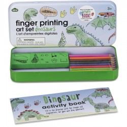 Vær kreativ med dinosaurer - Fingerprinting Art Set - npw London