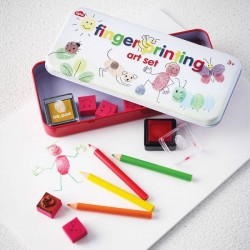 Vær kreativ med Det Originale - Fingerprinting Art Set - npw London