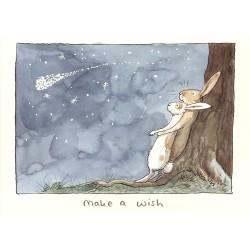 Make a Wish - Kort med kuvert
