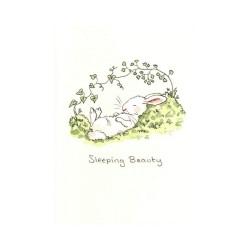 Sleeping beauty - Kort med kuvert