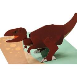 Tyrannosaurus - Pop-up kort & kuvert - 2ToTango