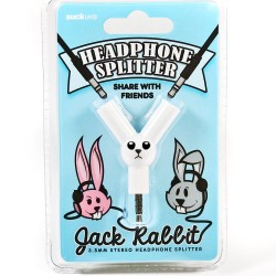 Jack Rabbit høretelefon splitter - Suck UK