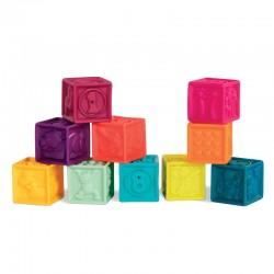 Bløde klodser - Mint - B. Toys