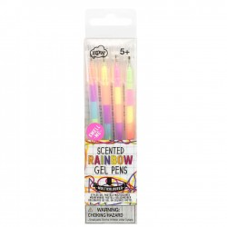 4 Regnbue Gel Pens med duft - npw London
