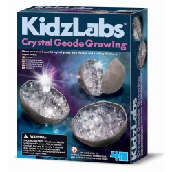 Dyrk dine egne Geode krystaller - KidzLabs - 4M