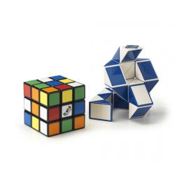 Rubiks Cube 3 x 3 & Magisk slange - Samleboks