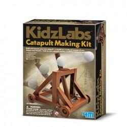 Skab din egen katapult - KidzLabs - 4M