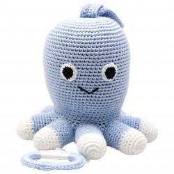 Lyseblå blæksprutte - Spilledåse - NatureZOO