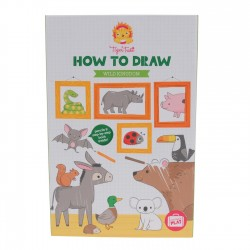 Wild Kingdom - Lær at tegne - Tiger Tribe