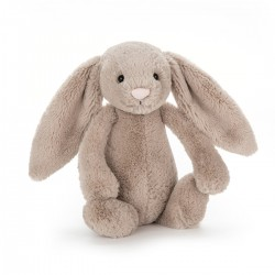 Beige kanin - Bashful rangle bamse - Jellycat
