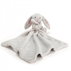 Silver Blossom kanin - Bashful nusseklud - Jellycat