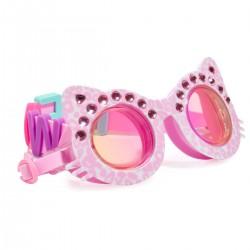 Lyserød kat - Svømmebrille - Bling2O