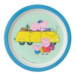 Gurli Gris bil tallerken med høj kant - Petit Jour
