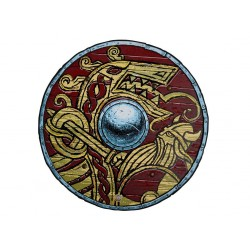 Rød Harald - Viking skjold - Liontouch