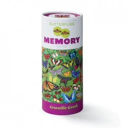 Sommerfugle huskespil - Memory med 36 par - Crocodile Creek
