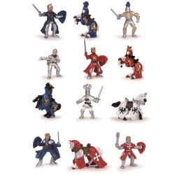 Ridder figurer - Mini legefigurer i rør - Pabo