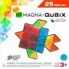 Geometriske byggemagneter 29 stk. i klare farver - Magna-Qubix