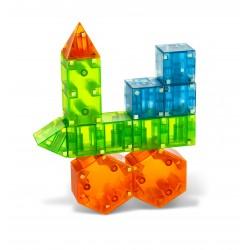 Geometriske byggemagneter 29 stk. - Magna-Qubix