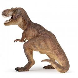 Brun T-rex - Dinosaur legefigur - Papo