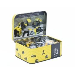Saml dine egne arbejdsbiler - Gift in a tin
