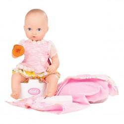 Daisy Aquini - Babypige med potte og tilbehør - Götz