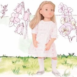 Emma dukke - Pige i blomstret kjole - Götz