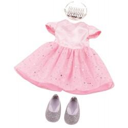 Prinsessekjole tøjsæt - Udstyr til dukke - Götz