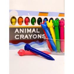 Søde dyr - 12 farver i æske - npw London