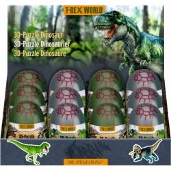 3D dinosaur puslespil i æg - Spiegelburg