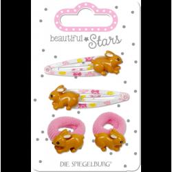 Kaniner - Hårspænder og hårelastikker - Spiegelburg