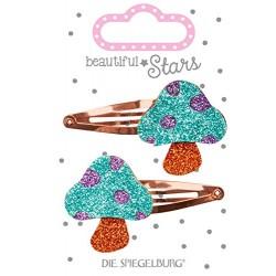 Glitter svampe - Hårspænder - Spiegelburg