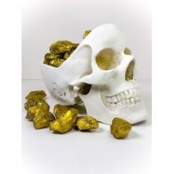 Piratens guld - Quartz med guldbelægning