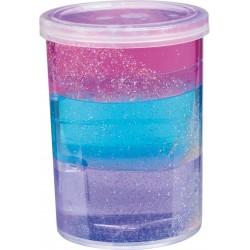 Glitter Putty i 3 lag - Slim i dåse