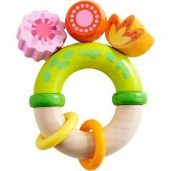Blomster biderangle med to ringe - HABA