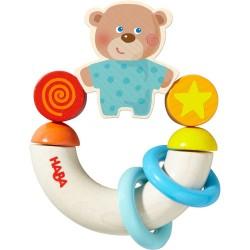 Teddy bjørn biderangle - HABA