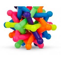Stjerneskud hoppebold - Stor 7,5 cm