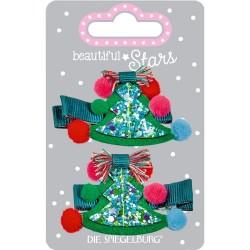 Juletræ hårspænder