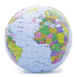 Oppustelig Globus - Tobar
