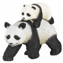 Panda med baby - Figur - Papo