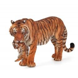 Tiger med unge - Figur - Papo