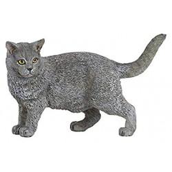 Grå kat - Figur - Papo