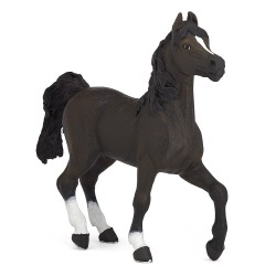 Sort hest - Figur - Papo