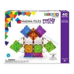 Free Style - Byggemagneter 40 stk. - Magna-Tiles