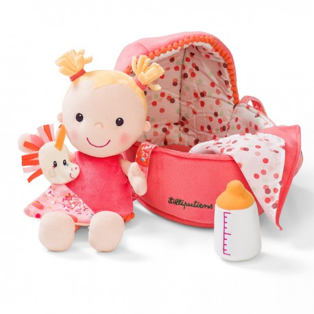 Louise i dukkelift - Blød dukke - Lilliputiens
