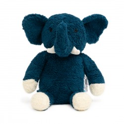 Lille blå elefant - Økologisk bomuld - NatureZOO