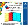 Byggemagneter ekstra dele - 8 stk. (firkanter og rektangler) - Magna-Tiles