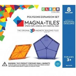 8 polygoner - Byggemagneter ekstra dele - Magna-Tiles