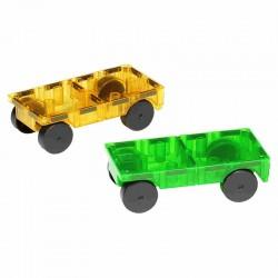 Byggemagneter ekstra dele - til 2 biler - Magna-Tiles