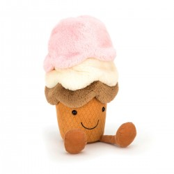 Amuseable Icecream - Bamse - Jellycat